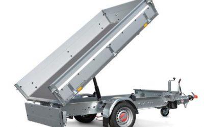 Stema – ROCKO 1.800 kg SHRK O2 18-25-15.1 mit Zinkbordwand, Elektropumpe und Blechboden